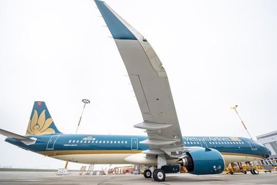 Cận cảnh lắp ráp máy bay A321neo đầu tiên của Vietnam Airlines  - Ảnh 7.