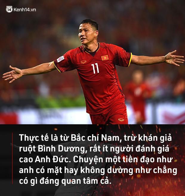 Anh Đức, tiền đạo thuộc hàng hiếm của bóng đá Việt Nam: Cuộc chơi và sứ mệnh của anh dường như chỉ mới mở ra thôi! - Ảnh 4.