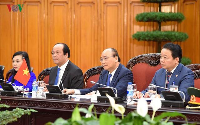 Hình ảnh lễ đón trọng thể Thủ tướng Pháp thăm chính thức Việt Nam - Ảnh 13.