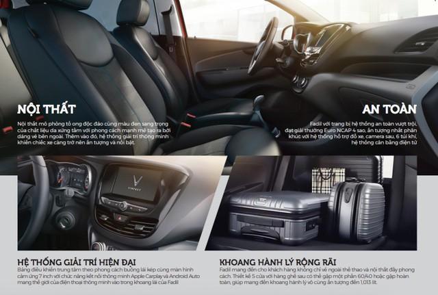 Lộ thông số xe VinFast Fadil trước giờ công bố: Nhiều sở hữu tiên tiến, an toàn bậc nhất phân khúc - Ảnh 3.