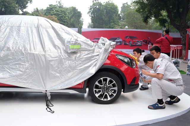 vinfast - photo 6 1542690107844601231174 - Cận cảnh 5 ô tô VinFast không nguỵ trang trước giờ ra mắt