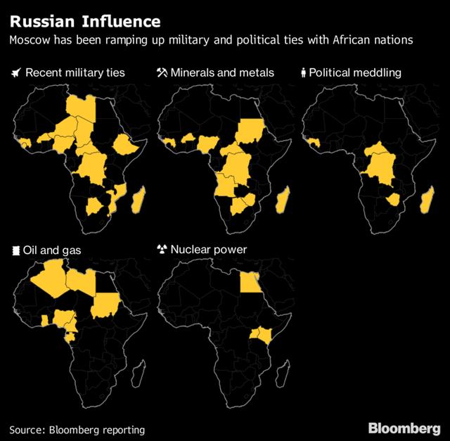 Doanh nhân bí ẩn có biệt danh Đầu bếp của ông Putin đang vươn vòi bạch tuộc khắp lục địa đen - Ảnh 1.