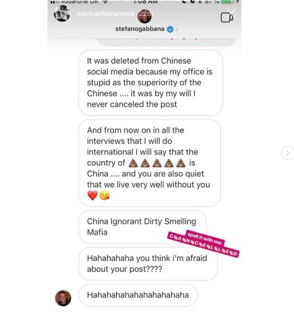 Dolce & Gabbana bị tẩy chay trên mọi mặt trận ở Trung Quốc vì đưa một đôi đũa vào video quảng bá - Ảnh 3.