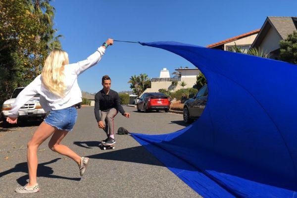 Cậu bé lớp 8 sáng lập startup ván trượt, có 2 bằng sáng chế, tham dự Shark Tank, được tỷ phú Richard Branson đầu tư và Nike mời hợp tác - Ảnh 2.