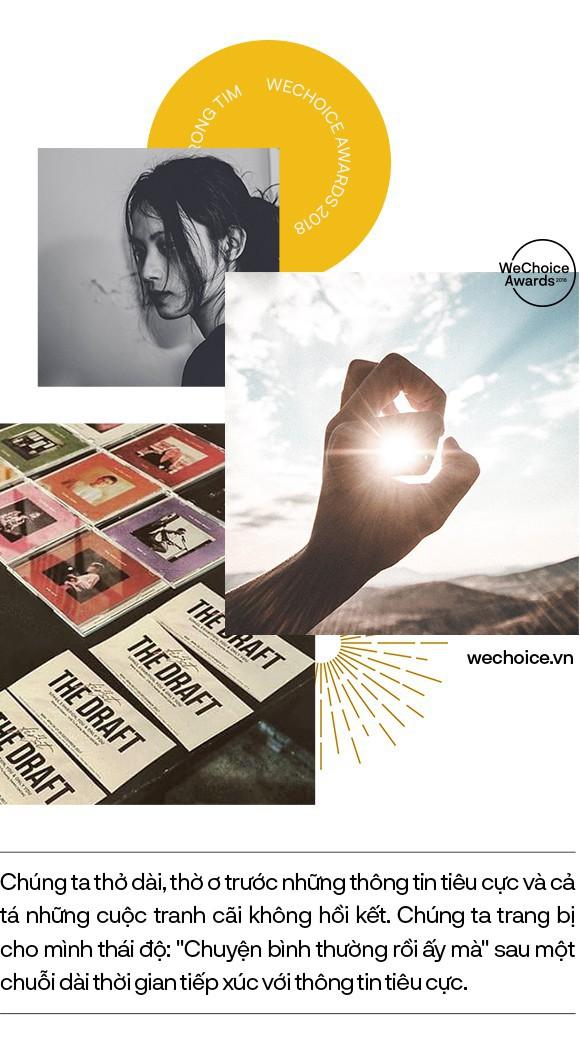 WeChoice Awards 2018: Câu chuyện về những mặt trời ẩn trong tim - Ảnh 1.