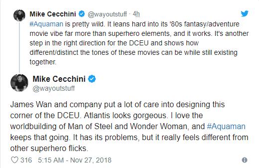 Aquaman được ca ngợi là bom tấn siêu anh hùng DC xuất sắc nhất từ trước tới nay - Ảnh 12.