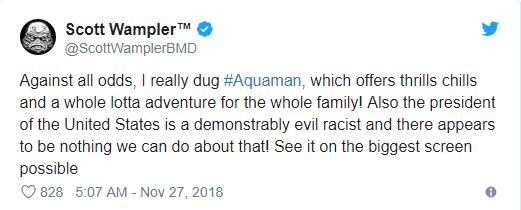 Aquaman được ca ngợi là bom tấn siêu anh hùng DC xuất sắc nhất từ trước tới nay - Ảnh 3.
