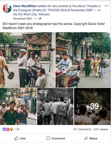 Tác giả bộ ảnh CSGT bắt cướp ở Sài Gòn 11 năm trước: Thật kì diệu vì họ có thể thuyết phục tên cướp buông kiếm đầu hàng - Ảnh 1.