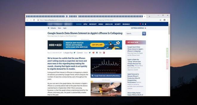 google chrome - photo 1 1543368701550190418058 - Google Chrome sắp vay mượn một tính năng và trải nghiệm người dùng đã làm nên thương hiệu của Firefox