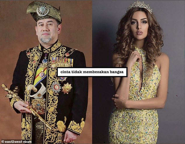 Cựu hoa hậu Nga làm đám cưới với quốc vương Malaysia, chia sẻ rằng đàn ông không được kiếm ít tiền hơn phụ nữ - Ảnh 4.