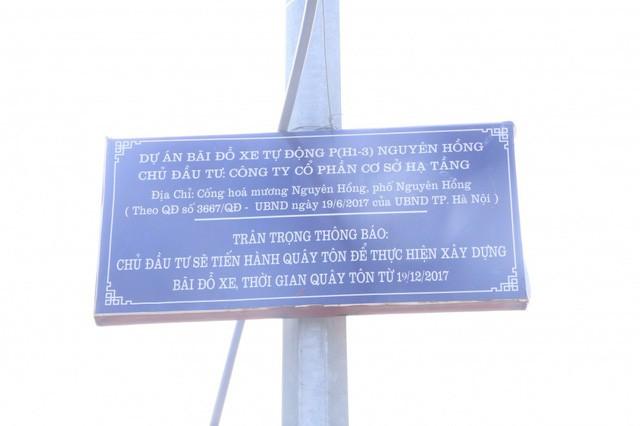 Ảnh: Bãi đỗ xe thông minh đắp chiếu, biến thành nơi trông xe truyền thống tại Hà Nội - Ảnh 2.