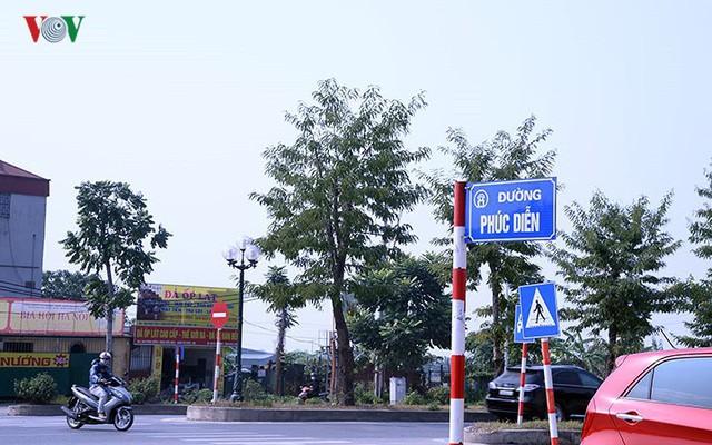 Cận cảnh phố 8 làn xe ở Hà Nội được đề xuất đặt tên Trịnh Văn Bô - Ảnh 3.