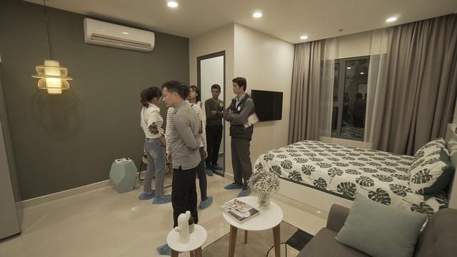 Cận cảnh căn hộ VinCity diện tích 28 m2 tại Hà Nội - Ảnh 8.