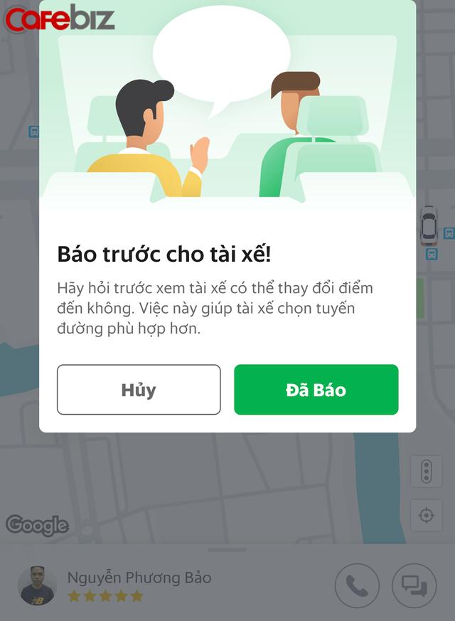 Grab 'bắt chước' Uber, ra tính năng cho thay đổi điểm đến - Ảnh 1.