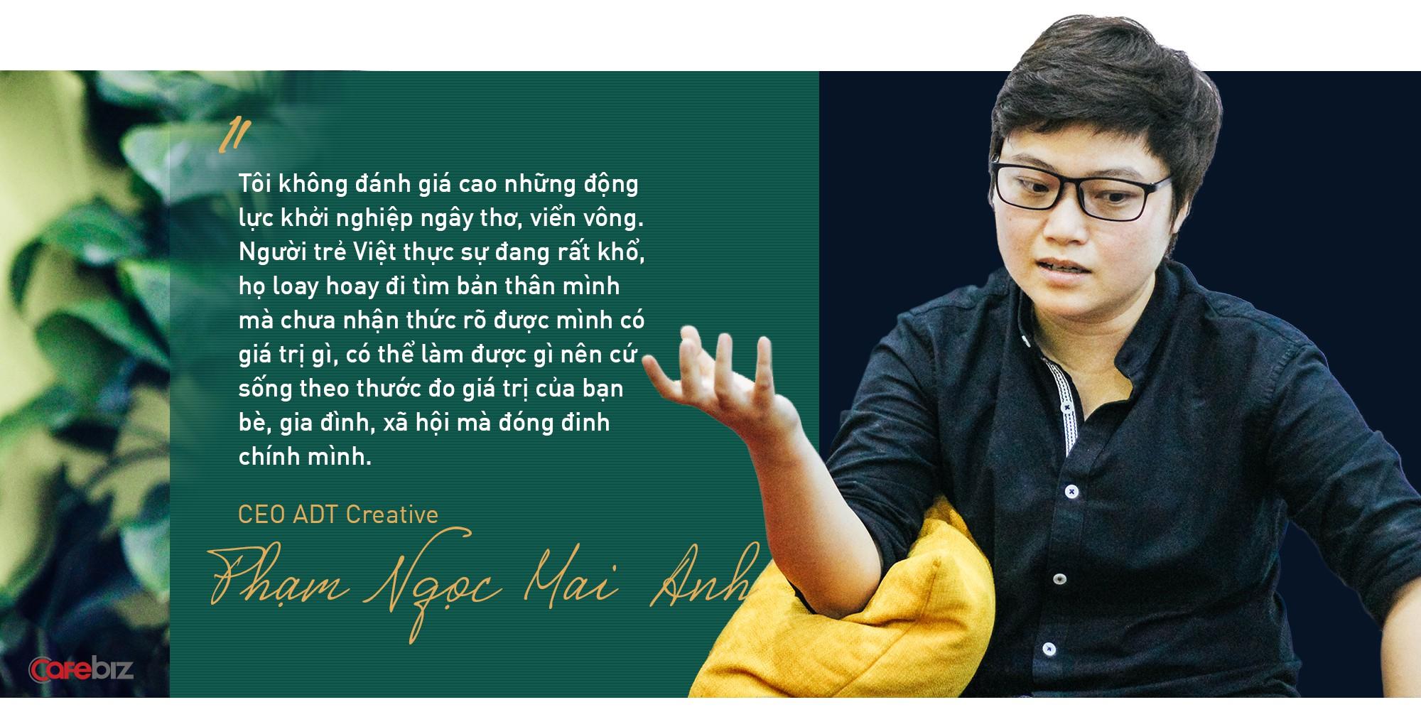 """CEO ADT Creative - đối tác duy nhất của Unity tại Việt Nam: """"Người trẻ Việt khổ quá, mở mắt ra đã gánh áp lực phải thành công. Nên biết mình thiếu sót mới là dấu hiệu đáng mừng"""" - Ảnh 6."""