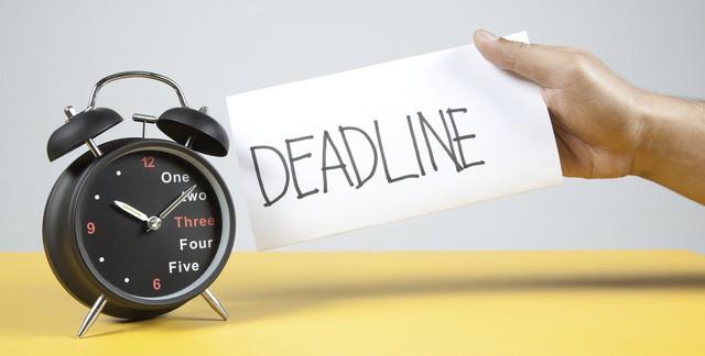 """deadline - photo 1 1541478973643494360074 - Ai cũng căng thẳng khi nhắc tới """"deadline"""" nhưng làm việc không có giới hạn sẽ chỉ dẫn tới thất bại mà thôi"""
