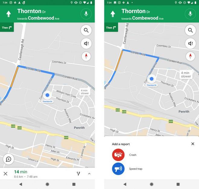 google maps thử nghiệm tính năng thông báo đoạn đường đã xảy ra tai nạn - photo 1 154172740222580201205 - Google Maps thử nghiệm tính năng thông báo đoạn đường đã xảy ra tai nạn và có bắn tốc độ