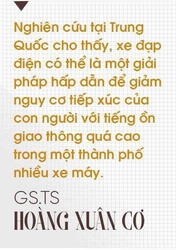 """GS.TS Hoàng Xuân Cơ: Xe điện là xu hướng nhưng chưa có tìm hiểu khẳng định """"xanh"""" hơn xe xăng - Ảnh 3."""