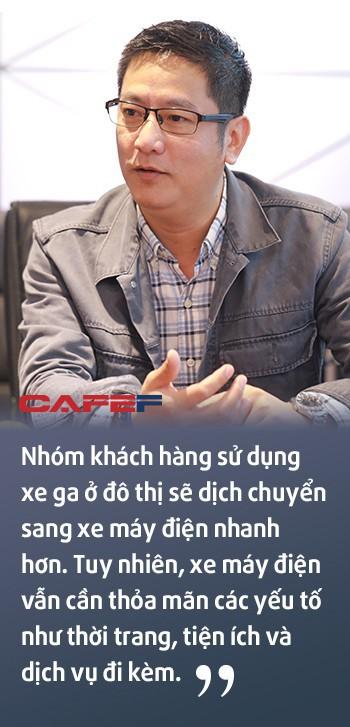 """Cựu Giám đốc bán hàng và marketing Yamaha Việt Nam: Xe điện sẽ """"không có cửa"""" nếu chỉ… bảo vệ môi trường - Ảnh 4."""