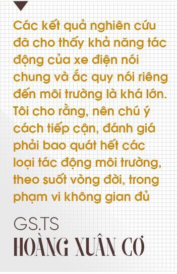 """GS.TS Hoàng Xuân Cơ: Xe điện là xu hướng nhưng chưa có tìm hiểu khẳng định """"xanh"""" hơn xe xăng - Ảnh 5."""