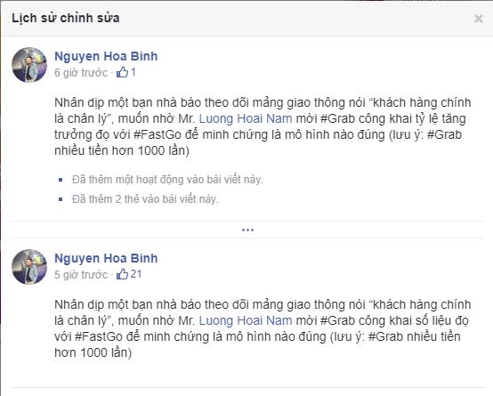 Cãi nhau 30ph trên show Quốc gia khởi nghiệp chưa đủ, các sếp Fastgo và TS. Lương Hoài Nam liên tiếp khẩu chiến trên Facebook cá nhân, mới nửa ngày đá qua lại gần 400 bình luận - Ảnh 3.