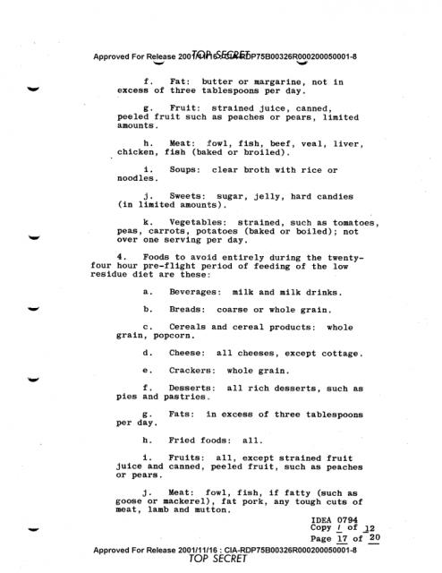 CIA hướng dẫn cách sinh hoạt để phi công bay 10 giờ liên tục không buồn đi vệ sinh, thử ngay nào - Ảnh 1.