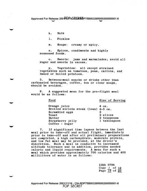 CIA hướng dẫn cách sinh hoạt để phi công bay 10 giờ liên tục không buồn đi vệ sinh, thử ngay nào - Ảnh 2.