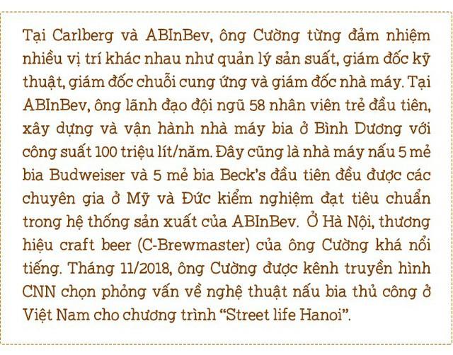 """Chân dung nghệ nhân nấu bia thủ công Việt Nam lên """"Street Life Hanoi"""" của CNN - Ảnh 1."""