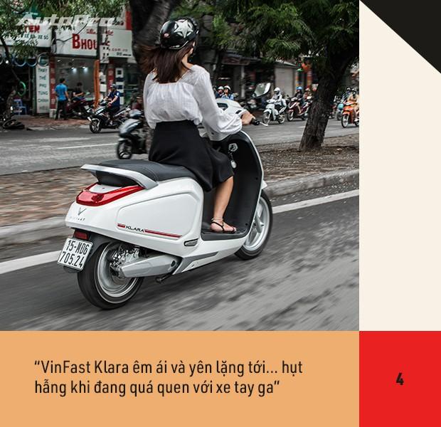 72 giờ trải nghiệm VinFast Klara của nữ nhân viên công sở Hà thành sau nỗi ám ảnh có xe máy điện - Ảnh 12.