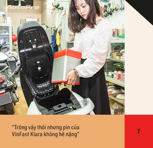 72 giờ trải nghiệm VinFast Klara của nữ nhân viên công sở Hà thành sau nỗi ám ảnh có xe máy điện - Ảnh 23.