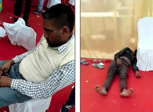 Ấn Độ: Khách dự lễ cưới ném bát đũa, cầm ghế đánh nhau vì thiếu cỗ - Ảnh 2.