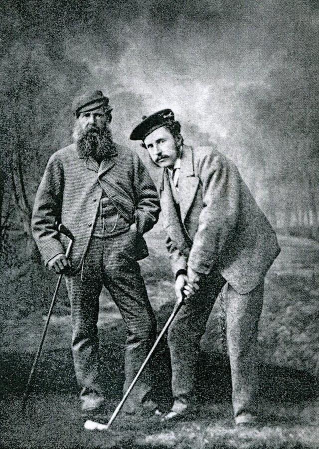 """Chuyện ít biết về huyền thoại Old Tom Morris - """"ông tổ của làng golf thế giới""""  - Ảnh 1."""