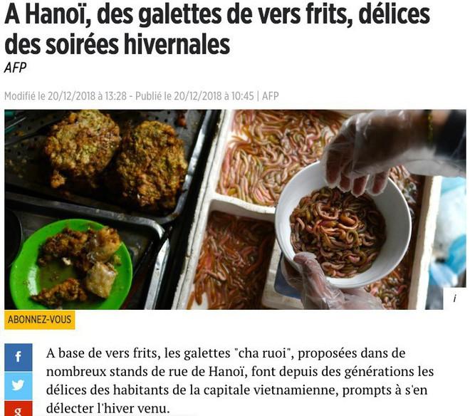 món ngon mùa đông hà nội - photo 1 1545526896849798644483 - Món ngon mùa đông Hà Nội xuất hiện lung linh trên báo Pháp nhưng nhiều người vẫn không dám ăn vì lý do này