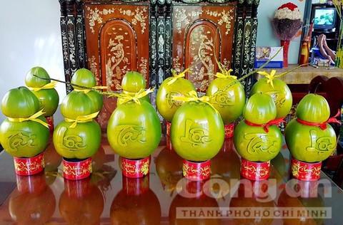 Trái cây độc bán Tết giá bạc triệu mỗi cặp - Ảnh 13.