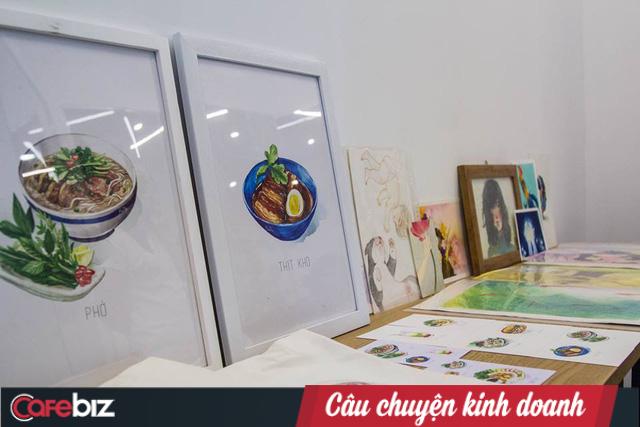 Monosketch: Startup thương mại hóa tác phẩm của họa sĩ trẻ Việt lên sổ tay, tranh treo tường, bưu thiếp... - Ảnh 8.