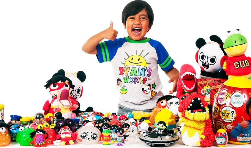 ryan - 4 1543909460147393044172 - Cậu bé 7 tuổi sở hữu cỗ máy kiếm tiền 'khủng' nhất YouTube: Thu về 22 triệu USD dễ như chơi đồ chơi!