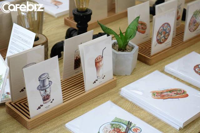 Monosketch: Startup thương mại hóa tác phẩm của họa sĩ trẻ Việt lên sổ tay, tranh treo tường, bưu thiếp... - Ảnh 3.