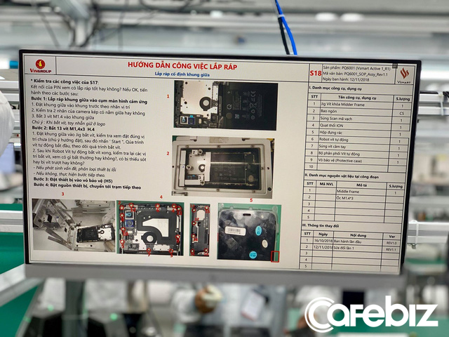 Hé lộ những hình ảnh đầu tiên bên trong nhà máy sản xuất Vsmart - Ảnh 9.