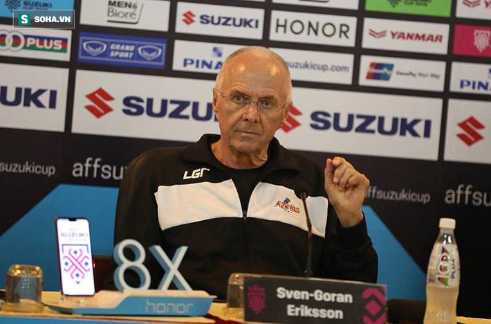 hlv eriksson - photo 1 1543992621205219237145 - HLV Eriksson phấn khích, so sánh họp báo tại Việt Nam với Champions League & World Cup