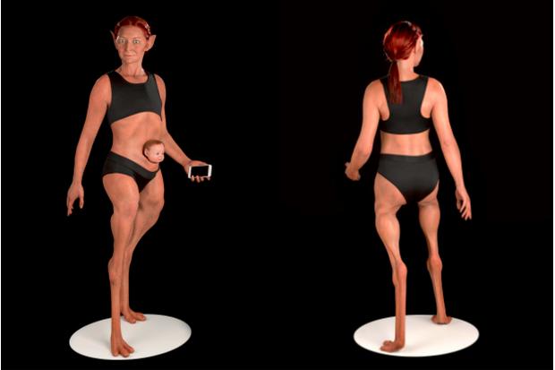 Đây là thân hình người phụ nữ hoàn hảo nhất, theo một nhà nghiên cứu nhân chủng học - Ảnh 2.