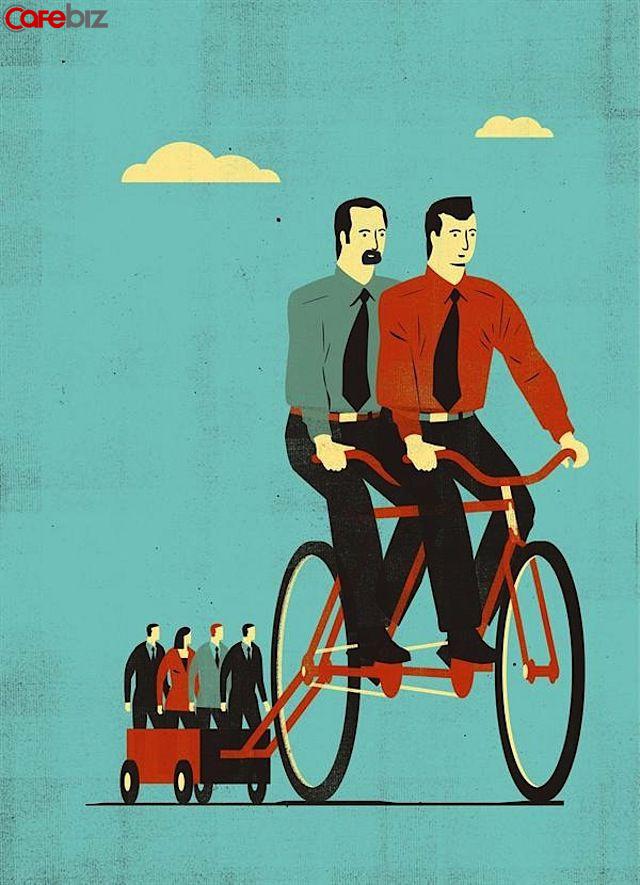 """Sự nghiệp tuổi 30: Tốc độ kiếm tiền không đuổi kịp tốc độ tiêu tiền, lửng lơ """"tầng giữa"""", trên có đồng nghiệp già kinh nghiệm, dưới có lớp trẻ nhiệt huyết - Ảnh 1."""