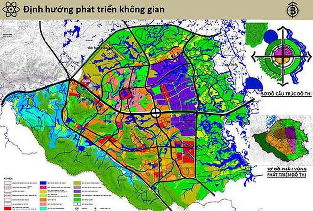Hà Nội xin Thủ tướng duyệt quy hoạch 'siêu' thành thị chứa 60 vạn dân - Ảnh 1.