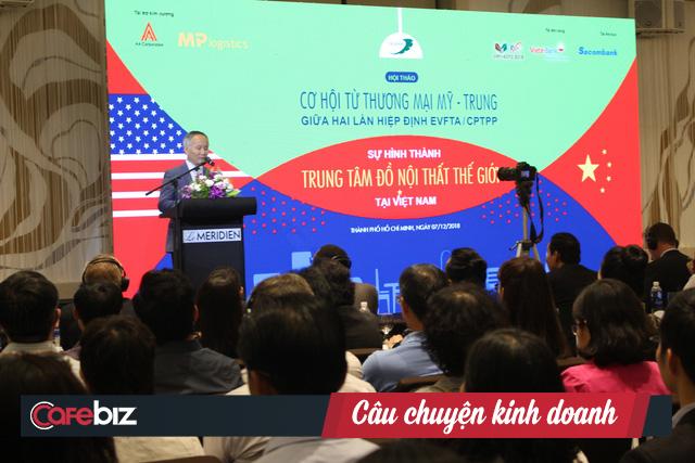 Thứ trưởng Công thương Trần Quốc Khánh: Quá sớm để nói cuộc chiến thương mại Mỹ - Trung có lợi cho ngành gỗ Việt Nam - Ảnh 1.