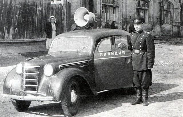 Cảnh sát Liên Xô thế kỷ trước đã đi cả BMW, Mercedes hay Volvo - Ảnh 2.