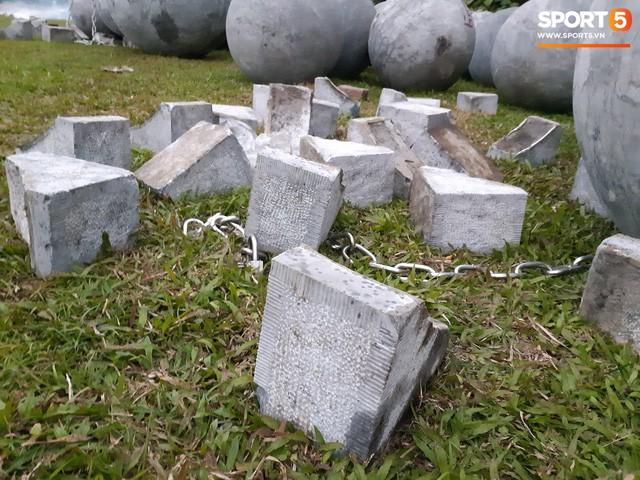 Đã tìm ra vị trí bí ẩn của 40 quả cầu đá sau khi bị di dời khỏi sân Mỹ Đình - Ảnh 4.