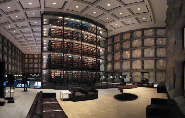Ghé thăm thư viện Đại học Yale - thiết kế đặc biệt bảo vệ kho tàng sách hiếm nhất thế giới - Ảnh 4.