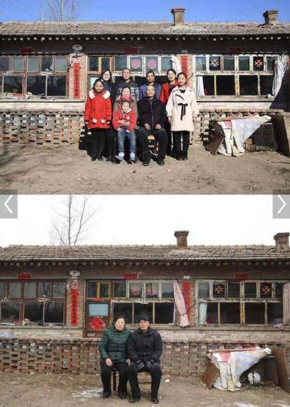 Những bức ảnh gia đình trong và sau kỳ nghỉ Tết khiến nhiều người không khỏi cay mắt - Ảnh 2.