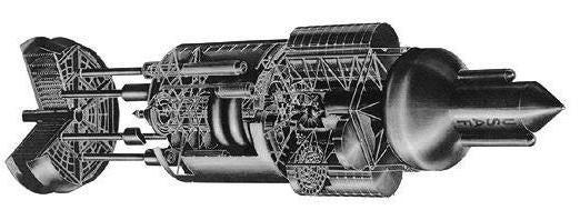 Khám phá dự án Orion - kế hoạch tuyệt mật về chế tạo tàu vũ trụ hoạt động bằng bom nguyên tử - Ảnh 9.