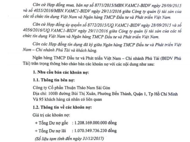 Nợ đầm đìa, Thuận Thảo Nam Sài Gòn bị phát mãi hàng loạt dự án bất động sản ở TP.HCM  - Ảnh 1.