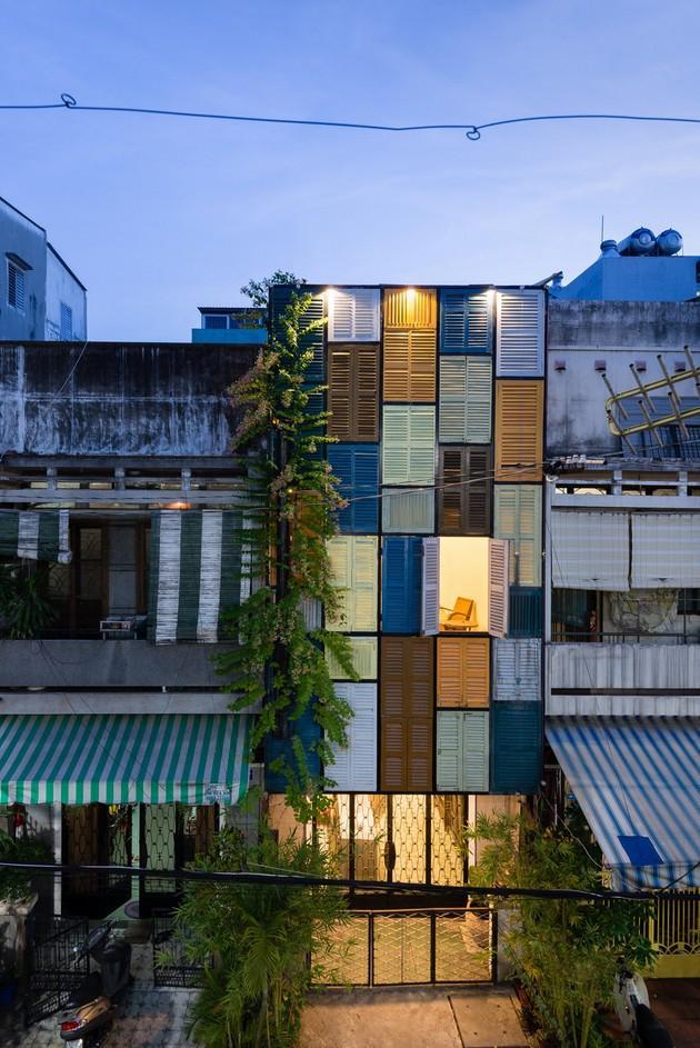 Nằm nghe nắng mưa qua những ô cửa đa sắc của ngôi nhà độc đáo ở Quận 3 Sài Gòn - Ảnh 19.